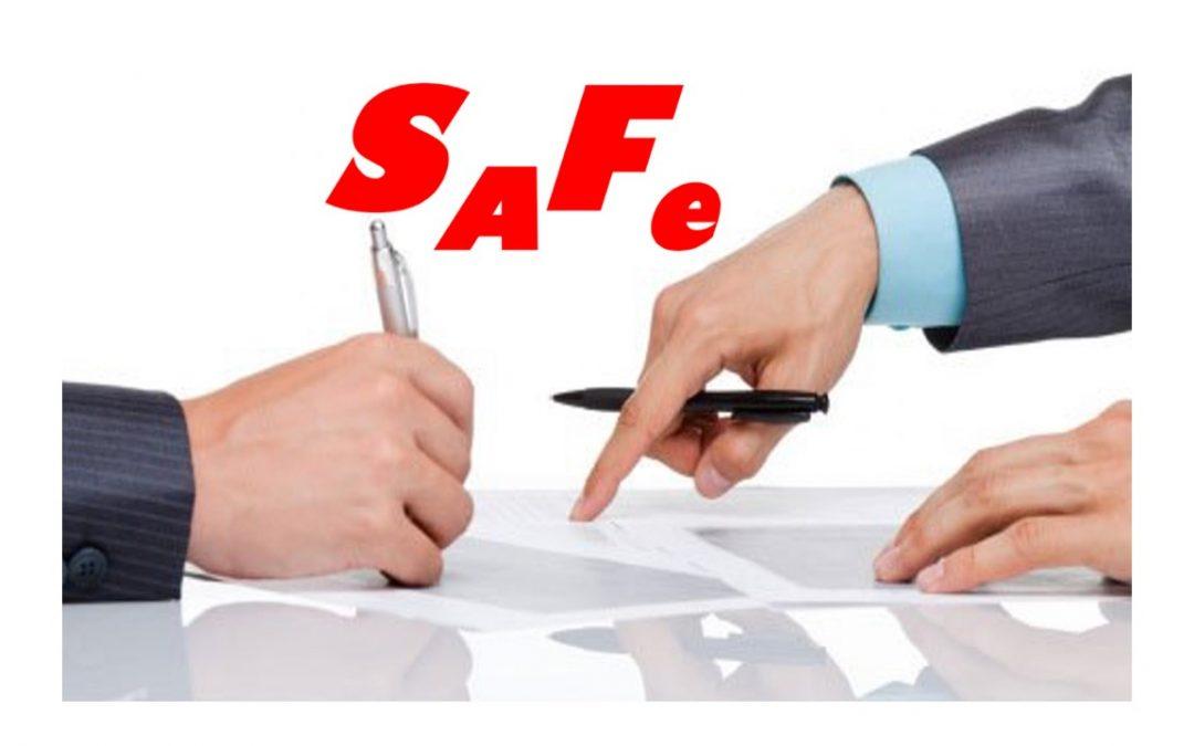 ¿Cómo opera un instrumento de inversión SAFE?